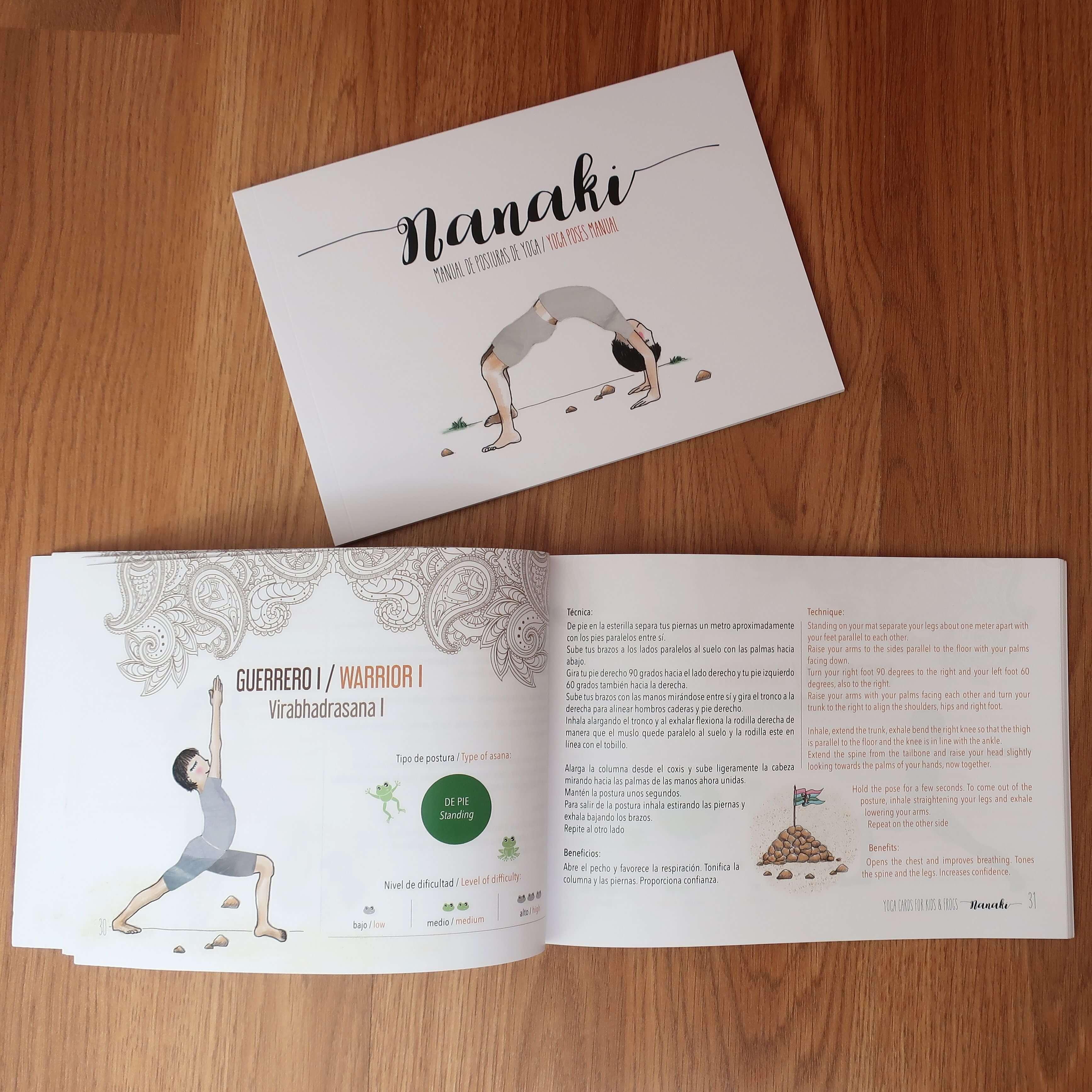 Manual juego de yoga